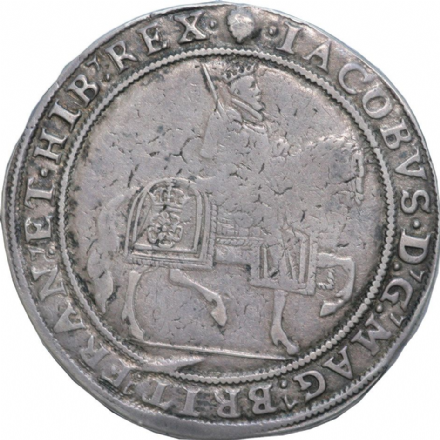 James I Silver Crown1603-1625